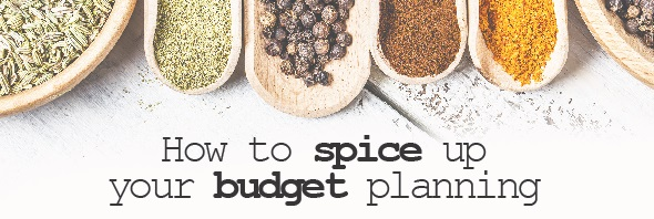 Spice up your Budget Planning