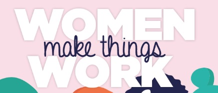 woman make things work